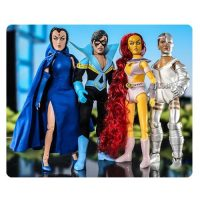 DC Retro New Teen Titans Series 1 8-Inch Action Figure Set