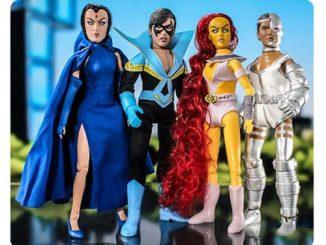 DC Retro New Teen Titans Series 1 8-Inch Action Figure Set