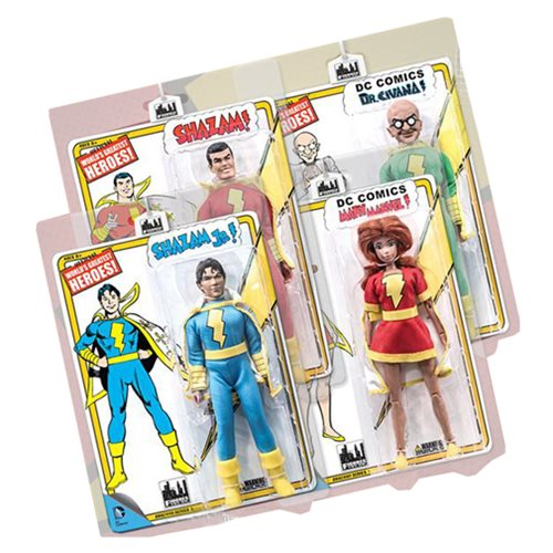 DC Retro Shazam Series 1 8-Inch Action Figure Set