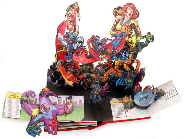 DC Super Heroes Pop up Book DC Super Heroes: The Ultimate Pop up Book