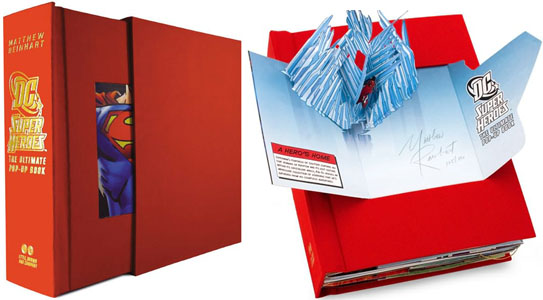 DC Super Heroes The Ultimate Pop up Book DC Super Heroes: The Ultimate Pop up Book