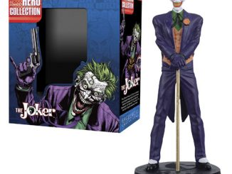 DC Superhero Joker Best of Figure with Collector Magazine