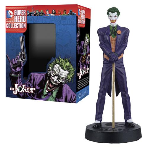 DC Superhero Joker Best of Figure with Collector Magazine