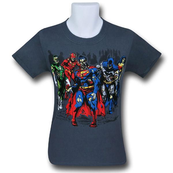 DC Superhero Zombies T-Shirt