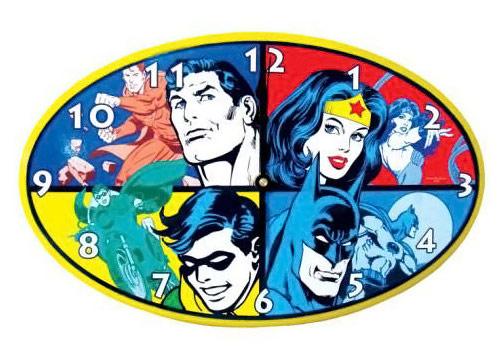DC Superheroes Wall Clock