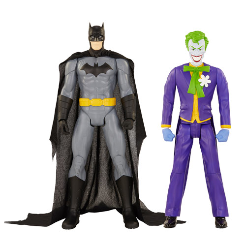 DC Universe 20-Inch Batman and Joker Action Figure 2-Pack