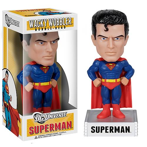 DC Universe Superman Bobble Head