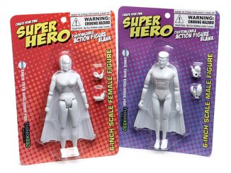 DIY 6 Action Figure Kits