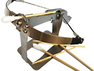 DIY Mini Metal Toothpick Crossbow