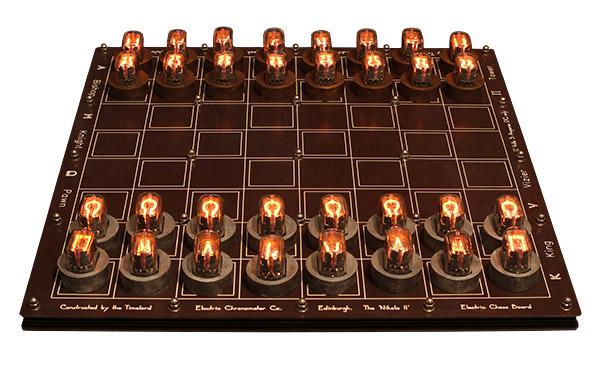 DIY Nixie Tube Chess Set