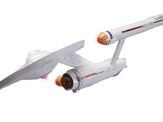 DIY Paper USS Enterprise 1701 Kit