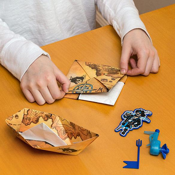 DIY PowerUp Boat Motorized Paper Boat Kit