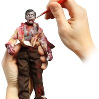 DIY Zombie Customizable Action Figure Kit