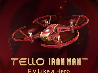 DJI Tello Iron Man Edition Video Drone