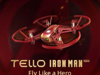 DJI Tello Iron Man Edition Video Drone