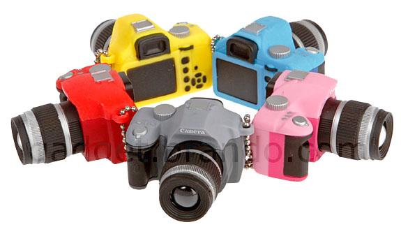 DSLR Camera LED Keychain