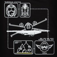 Dagobah Pictogram Kids Tee