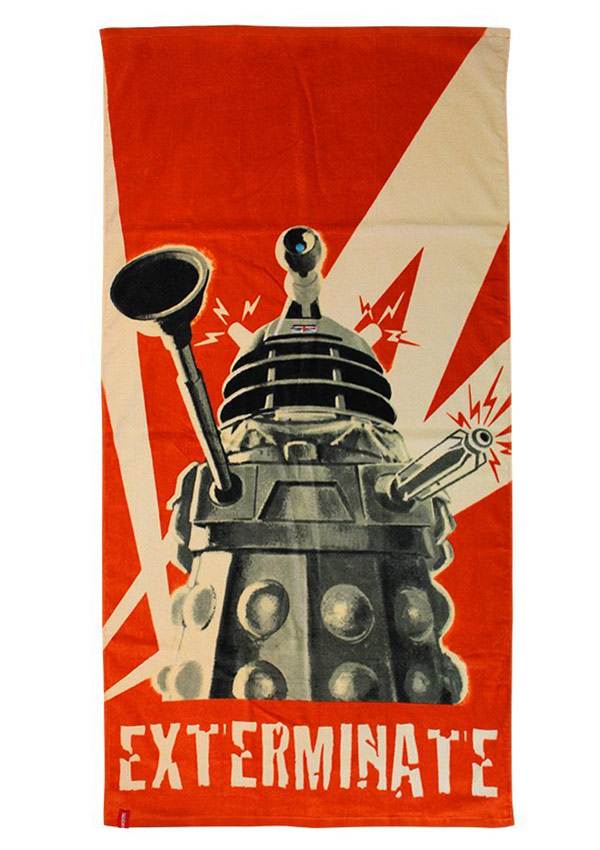 Dalek Cotton Towel
