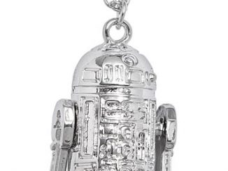 Dancing R2-D2 Pendant Necklace