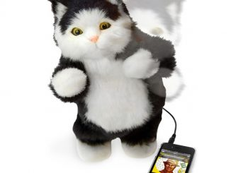 Dancing Toy Cat