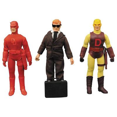 Daredevil 8 Inch Retro Action Figure Set