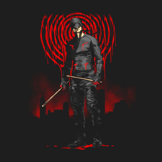 Daredevil In The Blood Shirt