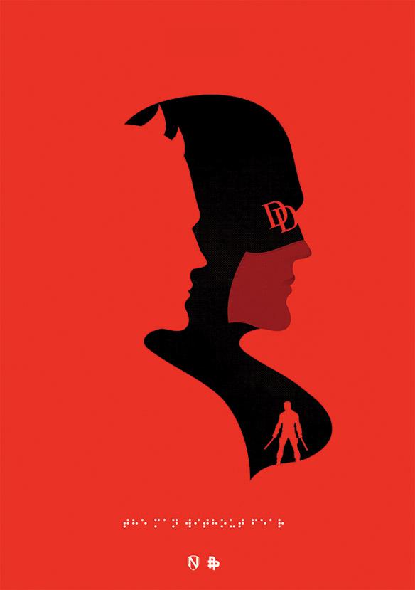 Daredevil Man Without Fear Print Geekalerts