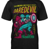 Daredevil Neon Cover T-Shirt