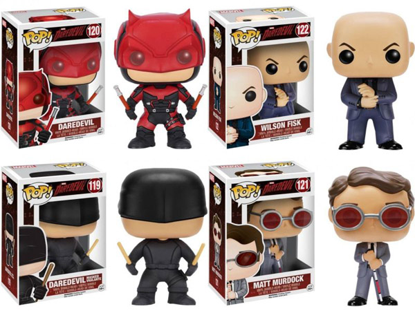 Daredevil Pop Vinyl Figures