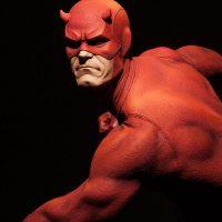 Daredevil Premium Format Figure Costume Detail 2