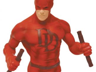 Daredevil Red Version Bust Bank