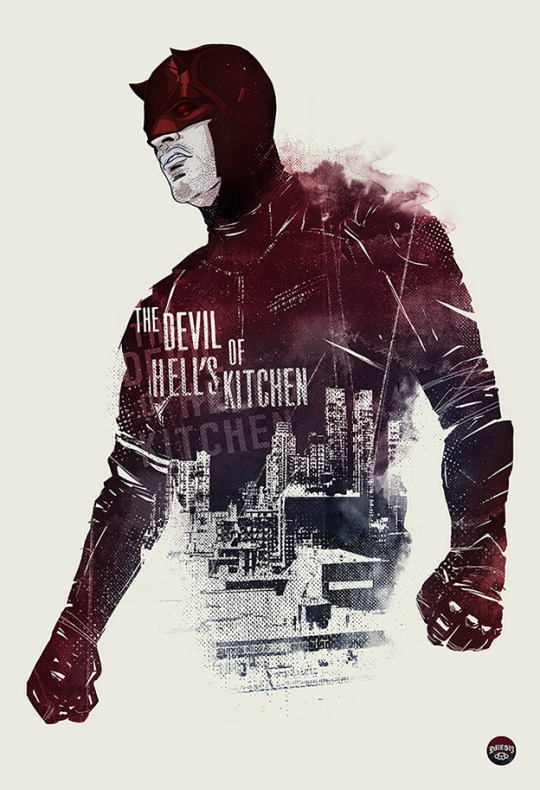 Daredevil The First Defender Print