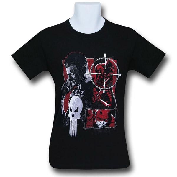 daredevil-vs-punisher-square-off-mens-t-shirt