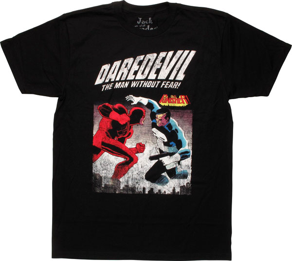 Daredevil vs Punisher T-Shirt