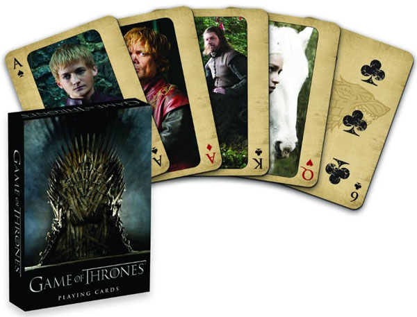 Dark Horse Deluxe Game of Thrones Playing Cards