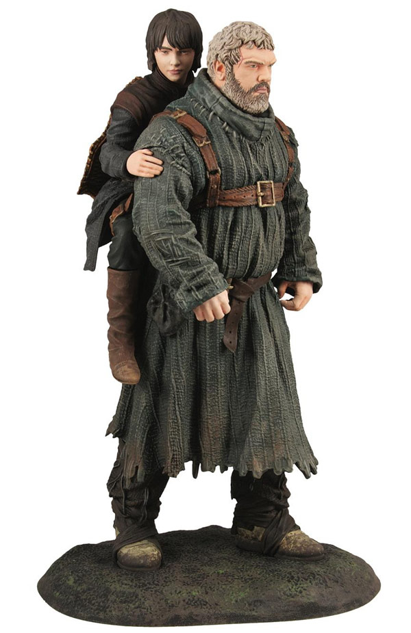 Dark Horse Game of Thrones Hodor and Bran Figure