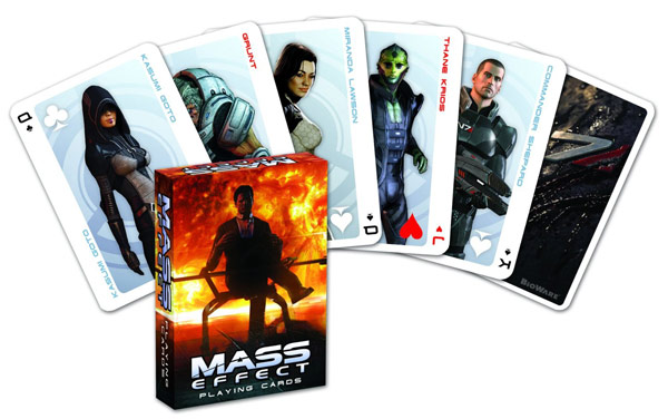 Dark Horse Mass Effect Playing Cards