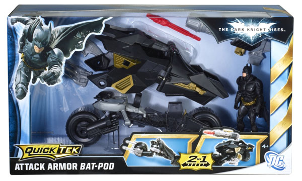 Dark Knight Rises Attack Armor Bat-Pod