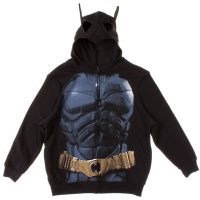 Dark Knight Rises Batman Costume Hoodie with Mask