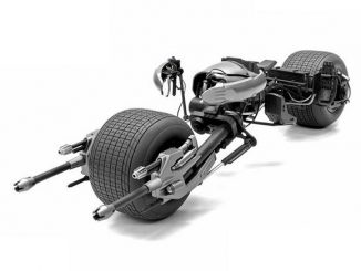 Dark Knight Rises Batpod