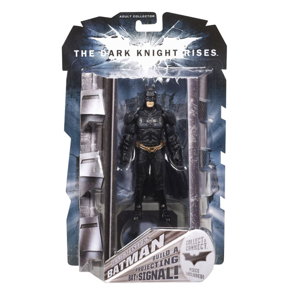 Dark Knight Rises Movie Masters Batman Figure