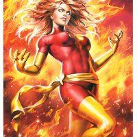 Dark Phoenix Premium Art Print