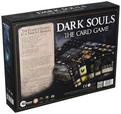 Dark Souls Card Game Box Back