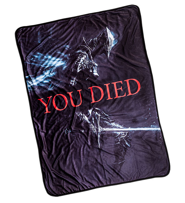 Dark Souls You Died Blanket