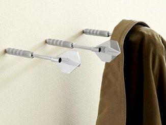 Dart Coat Hooks