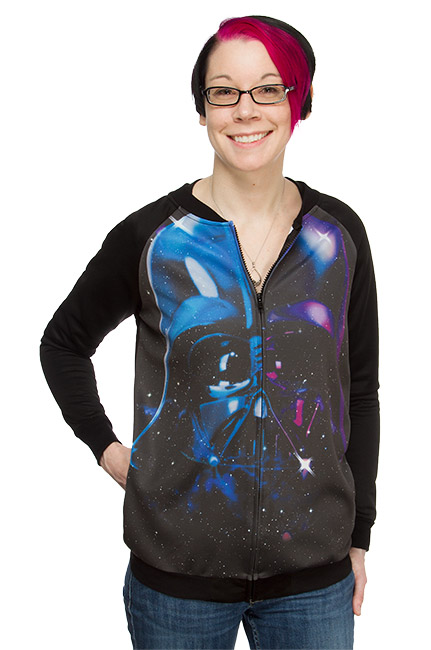 Darth Space Ladies Jacket