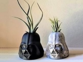 Darth Vader Air Plant Holders