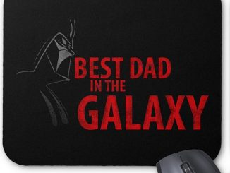 Darth Vader Best Dad In The Galaxy Mouse Pad