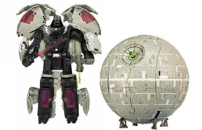 Darth Vader / Death Star Transformer
