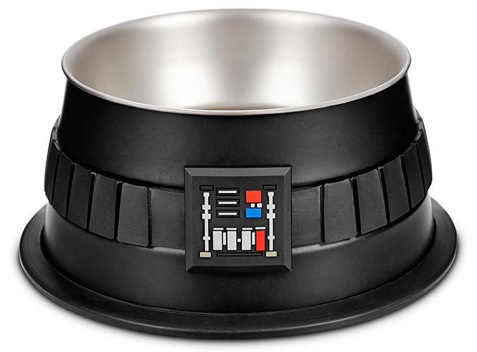 Darth Vader Dog Bowl
